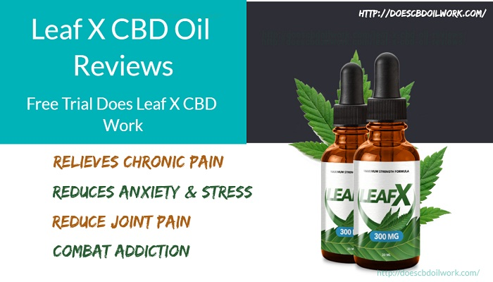Leaf X CBD Oil