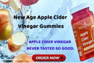 New Age Apple Cider Vinegar Gummies