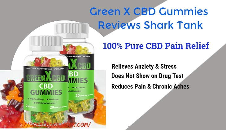 Green X CBD Gummies