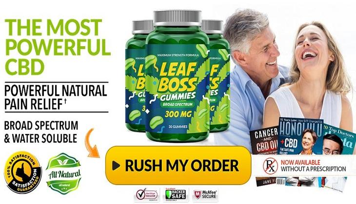Leaf Boss Gummies Shark Tank
